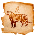 Tigre- Animal secreto del Horóscopo chino