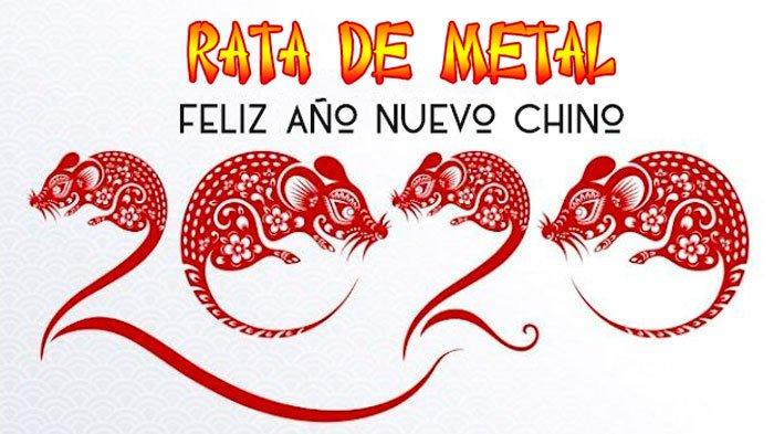 año nuevo chino 2020 - año de la rata de metal