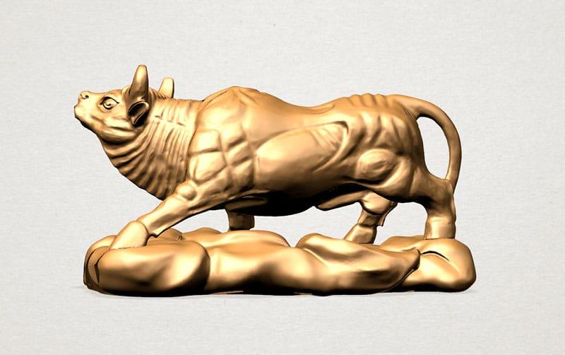Toro de oro